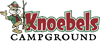 Preview of Knoebels Campground Logo - Red - PNG