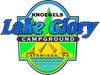 Preview of Lake Glory Campground Logo - PNG