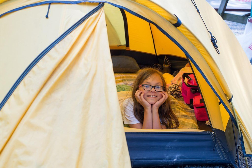 Knoebels Park Campground Tent