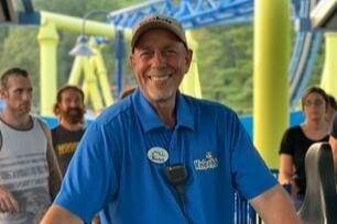 Middle Age Man Ride Operator