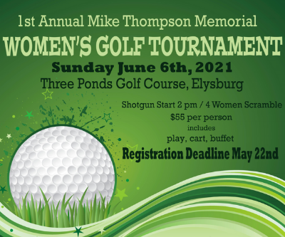 1st Annual Mike Thompson Memorial Women's Golf Tournament