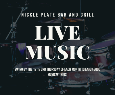 Live Music at the Nickle Plate